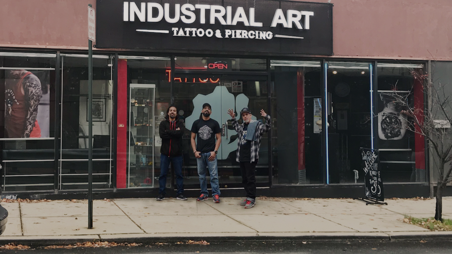 Industrial art Bayonne tattoo shop in New Jersey